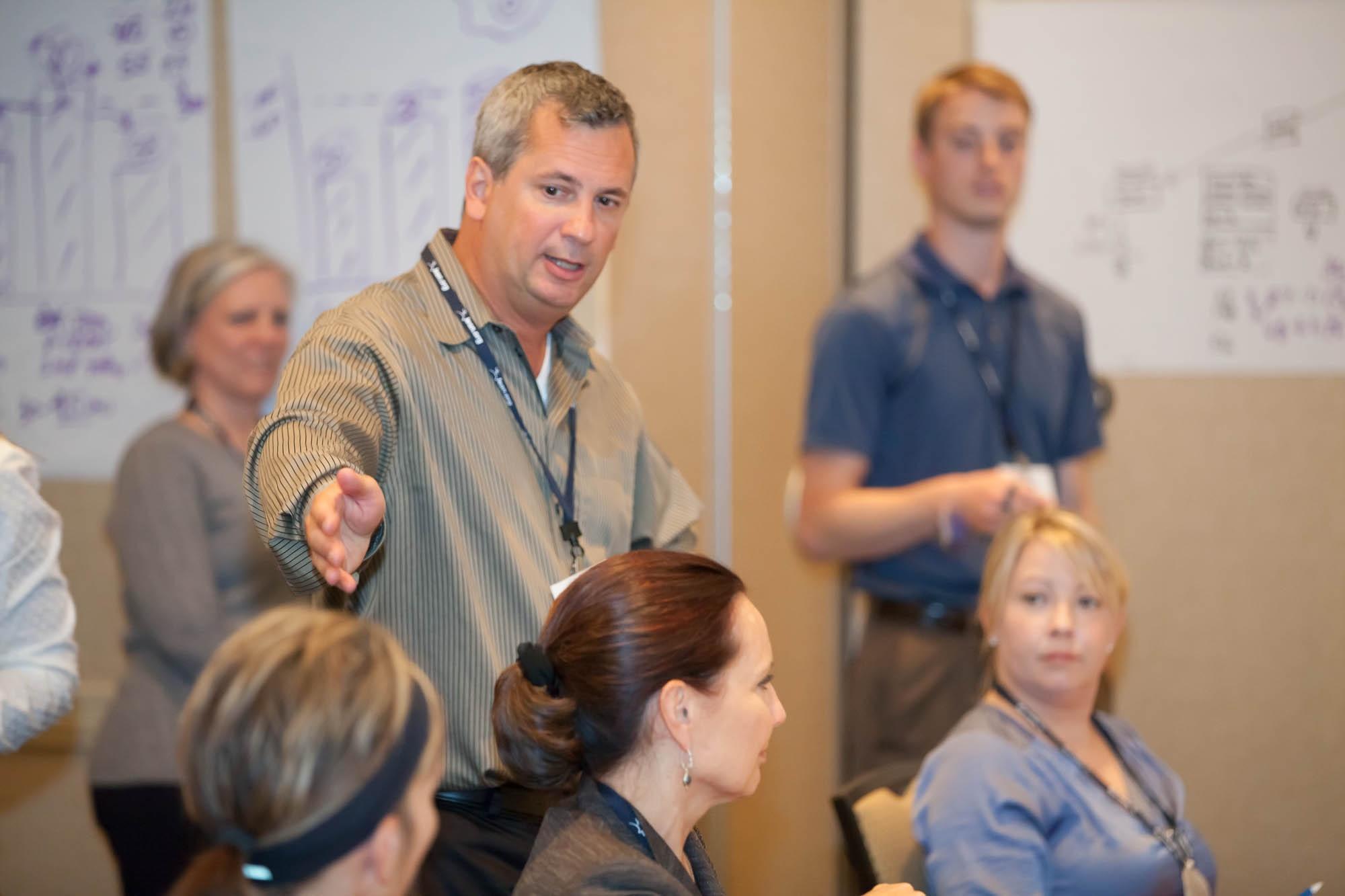 Facilitating Lean Office Simulation at LEI workshop in Minneapolis